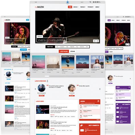 template joomla music free cmsdude download joomla and wordpress themes
