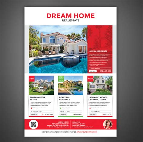 latest realtor flyers templates flyer template 1 professional and