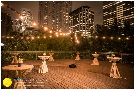 downtown houston corporate christmas parties corporate event at the grove