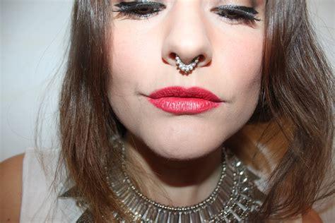 best women 40 latest septum piercing collection