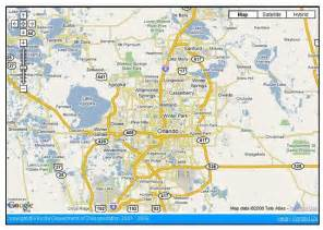 central florida city map optimus 5 search image detailed map of central florida