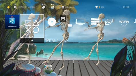 ps4 halloween themes the ps4 theme for those who love summer as much as