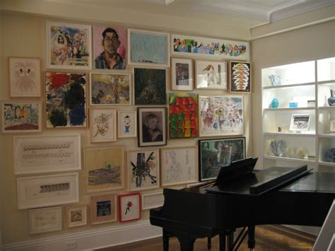 how high should art be hung how high should pictures be hung on wall great pinterest