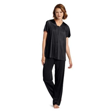 Vanity Fair Plus Size Pajamas vanity fair midnight black 1x plus 83623102580 s plus size coloratura sleepwear
