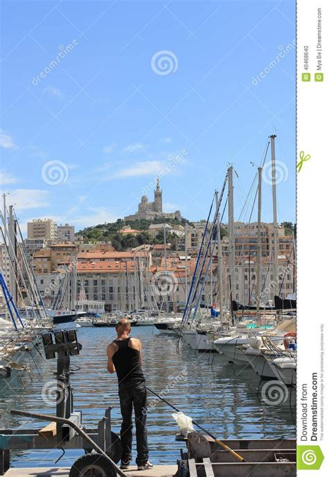 porto della francia dazur della provenza c 244 te vecchio porto di marsiglia