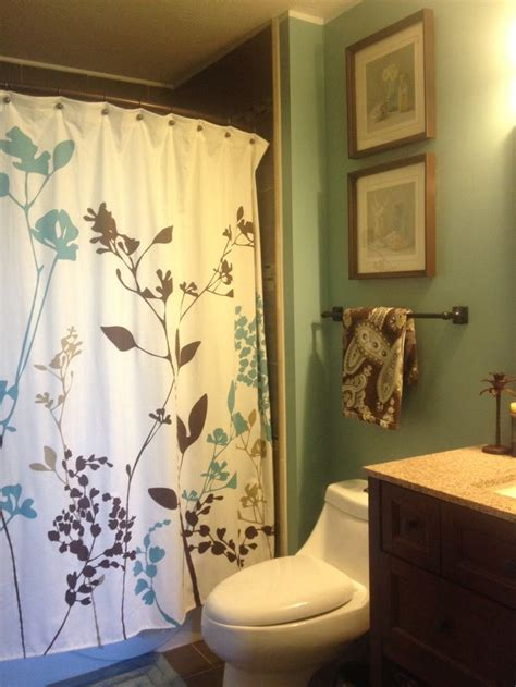 bathroom ideas with shower curtain my new bathroom shower curtain bed bath and beyond