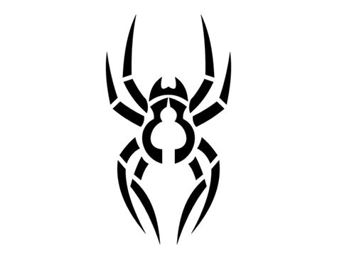 spider tribal tattoos insights spider designs photos 2012 new