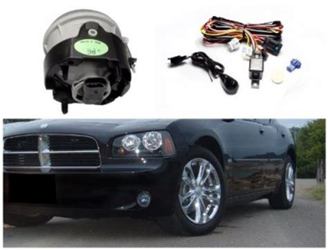 2006 dodge charger fog light kit dodge charger 2006 2010 smoked oem style fog lights kit