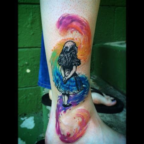watercolor tattoos nc 26 best images about we re all mad here on