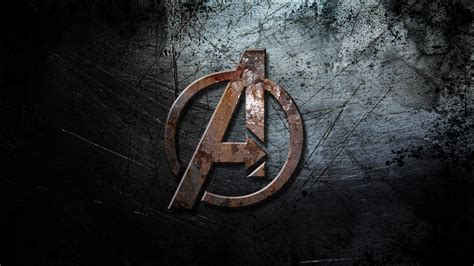 Avengers Logo Wallpaper   WallpaperSafari