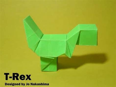 Yoshi Origami - origami block t rex yoshi jo nakashima dinosaur 2