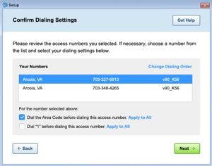 add access phone numbers to aol dialer aol help