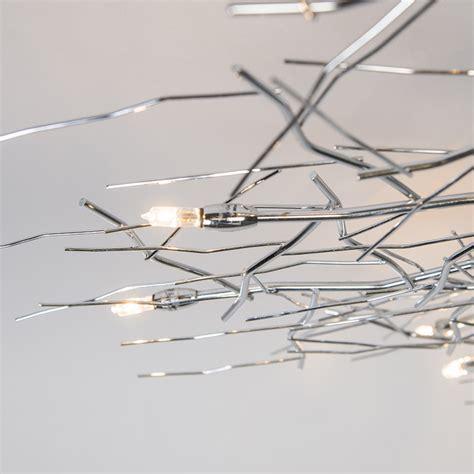 Forest Ceiling Light by Ceiling L Forest 10 Chrome Landlight Co Uk