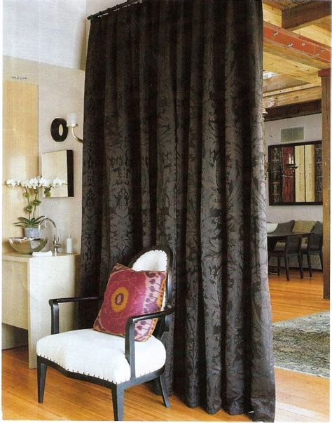 dividing a bedroom with curtains dividing a large room with curtains curtain designs