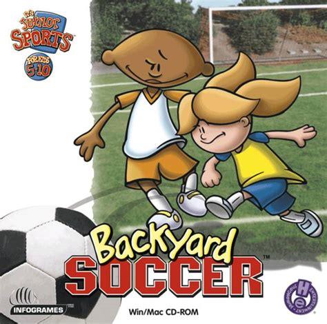 soccer backyard backyard soccer humongous entertainment games wiki