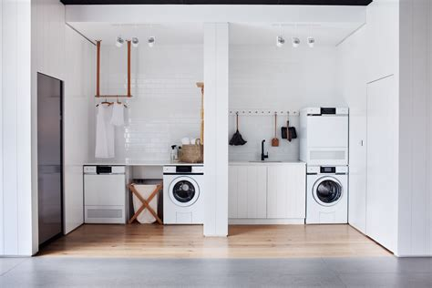 laundry white this look all white laundry room in melbourne