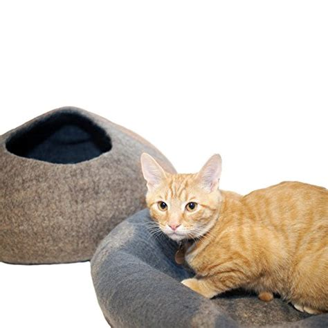 Handmade Cat Bed - kittikubbi cat bed cave hideout handmade from 100