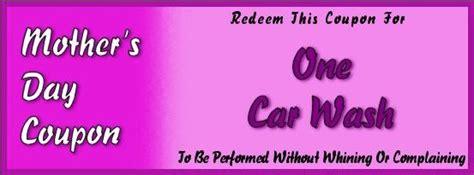 car wash coupon template printable s day coupons