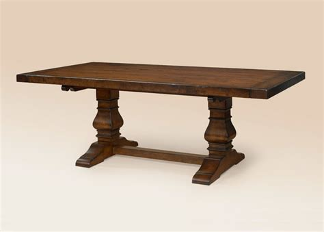 European Dining Tables European Style Trestle Table Dining Tables Other Metro By Great Chairs