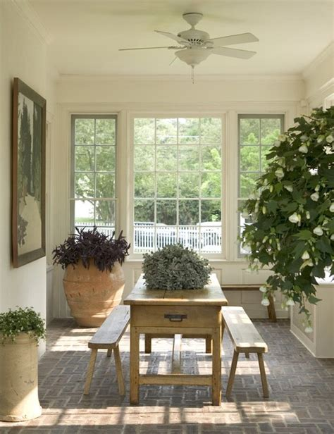 sun room traditional porch new york by dennison