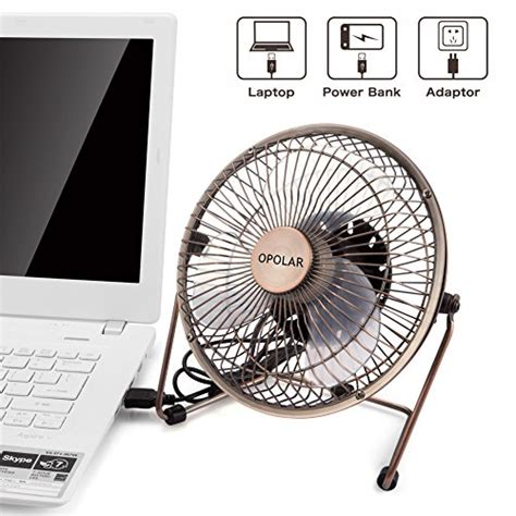 6 inch desk fan 6 inch desktop usb fan usb powered personal table fan