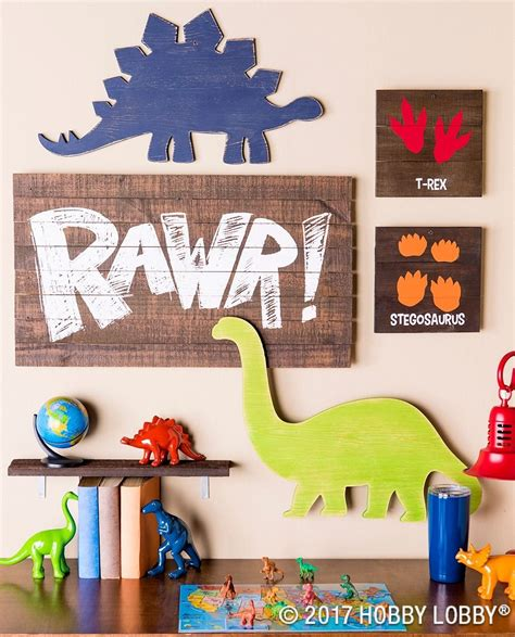 this dino decor is for any explorer
