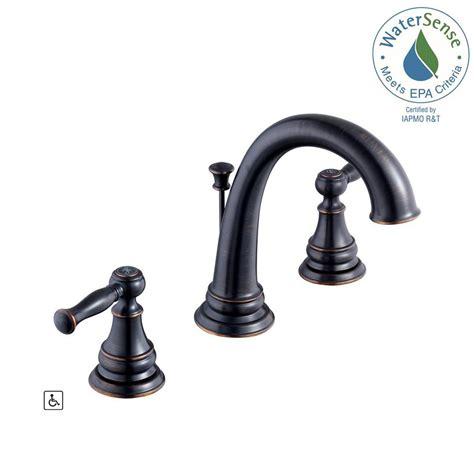 Glacier Bay Faucets Warranty by Glacier Bay Fairway 8 In Widespread 2 Handle High Arc