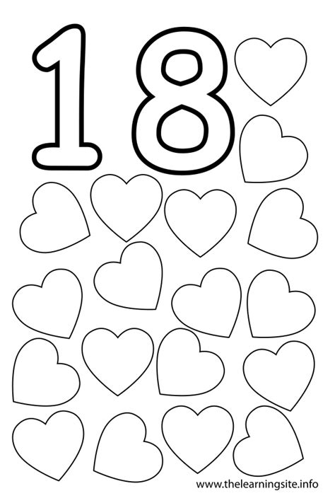 Coloring Number 17 Preschool Worksheets Coloring Best - 14 best images of number 17 coloring worksheets number