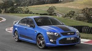 ford unveils last falcon gt says factory will stay