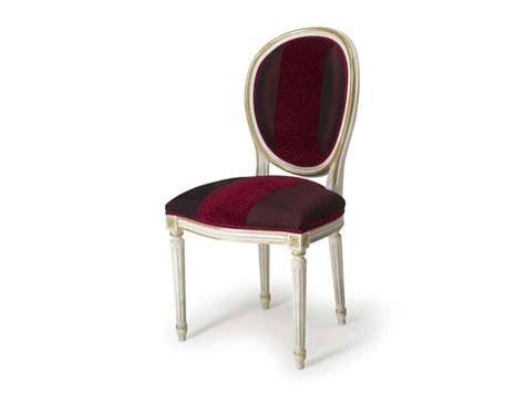 sedie classiche imbottite sedia con schienale imbottito ovale stile luigi xvi