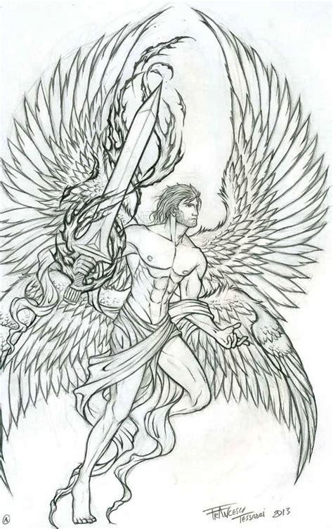 tattoo stencil paper michaels 19 archangel tattoo designs