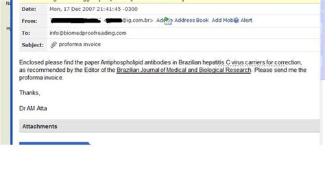 Confirmation Letter Enclosed See Attachment Turnaround Time Biomed Proofreading