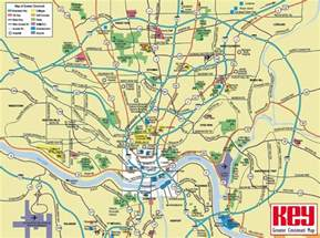 Cincinnati Ohio Map by Large Cincinnati Maps For Free Download And Print High