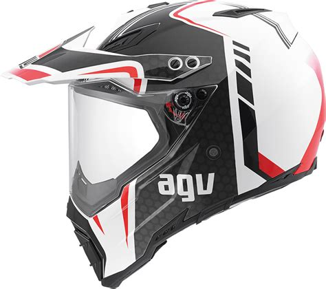 agv motocross helmet agv ax 8 dual sport evo gt motocross atv dirtbike mx dot