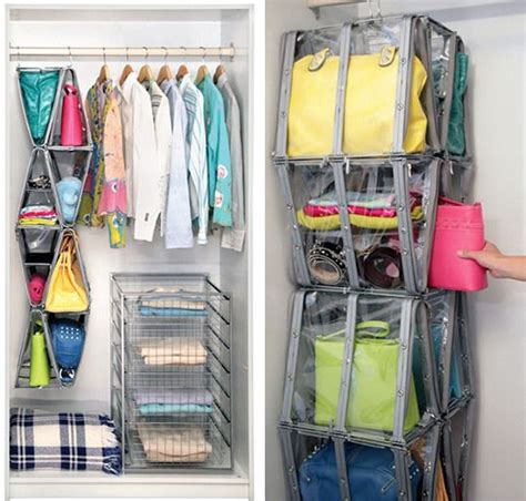 How To Organize Bags In Closet by Beautifully Organized Shoe Bag Storage
