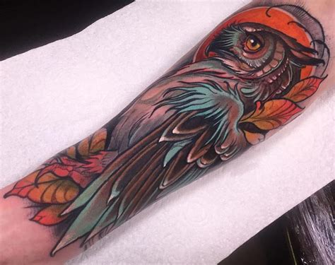 neo traditional owl tattoo best 25 neo traditional ideas on neo
