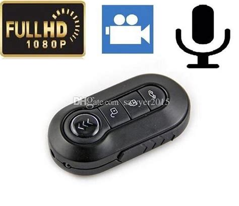 Mini Dv Infrared 1080p 12megapixel T4000 hd 1080p 12mp car key pinhole t4000