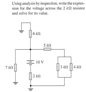 find the expression for the voltage across the inductor for t 0 using analysis by inspection write the expression chegg