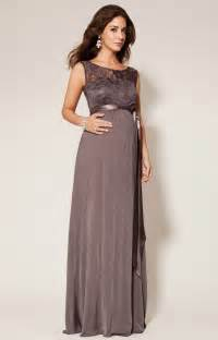 Valencia maternity gown long charcoal maternity wedding dresses