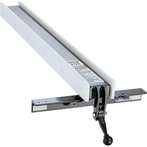 table saw fence and rail system power saws shop fox table saw fence with standard rails