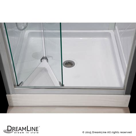 Butterfly Shower Door Dreamline Butterfly Frameless Bi Fold Shower Door And Slimline 32 In By 32 In Ebay