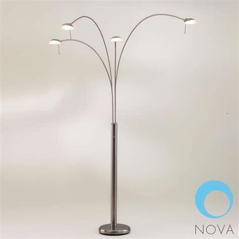light bulbs los angeles nova shell 4 light arc floor l modern floor ls