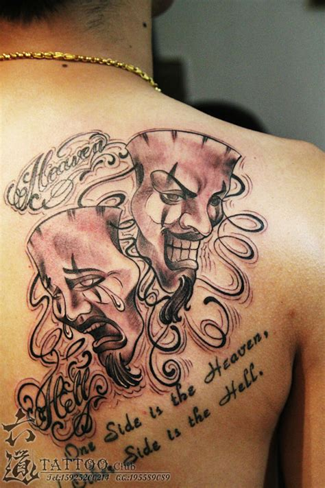 cheap tattoo designs the gallery for gt drama masks drawings