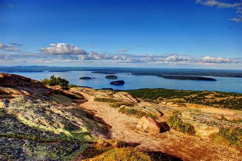 cadillac mountain time on cadillac mountain photograph by peggy berger