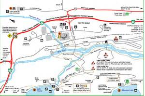 map of lake louise canada experience banff national park experienceexperience