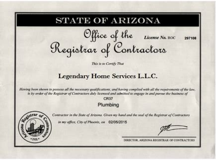 Master Plumbing License by Legendary Home Services Plumber Mold And Water Damage