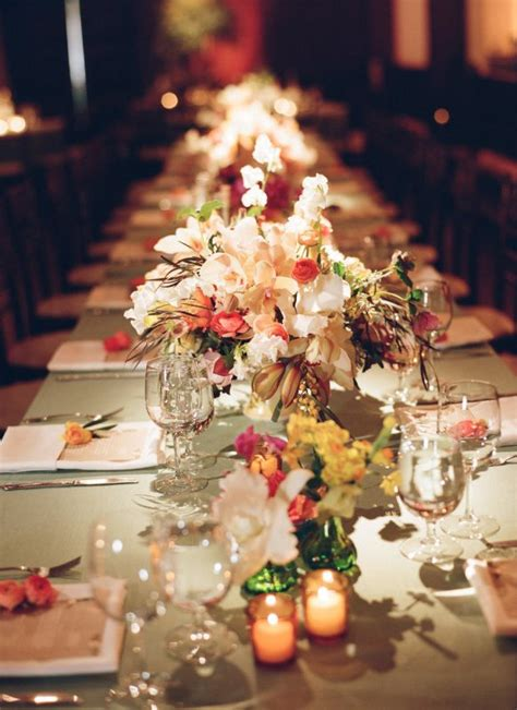 wedding table decorations ideas images 2013 fall weddings archives weddings romantique