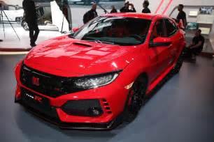 2017 honda civic type r sedan spied in spain with ferrari