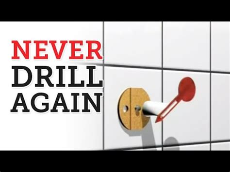 Never Drill Again Bathroom Accessories Youtube Never Drill Again Bathroom Accessories