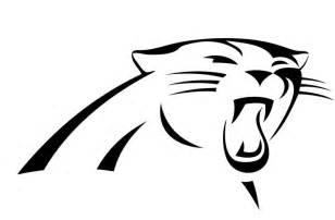 Logo Black Panther Outline by Carolina Panthers Logo Paw S Logos Panthers And Carolina Panthers
